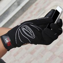 1 Pair Bike Bicycle Gloves Full Finger Cycling MTB Bike Touch Screen Gloves Men Women Long Finger Glove Soft Shockproof sahoo 42890 breathable touch screen full finger cycling gloves black blue xl pair