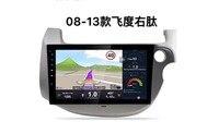 Chogath 10 дюймов Система android автомобильный мультимедийный плеер для Honda fit правая рука 2008 2013