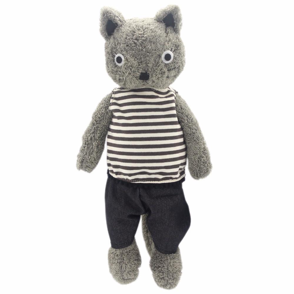JESONN Klädda Plush Fyllda Djur Leksaker Katter För Barns Födelsedag Presenter