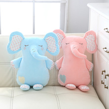 40CM Super soft plush toy elephant doll pillow with elastic super for kids and girl gift NTDIZ0236