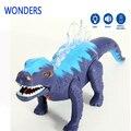 Электрический динозавров игрушки развивающие игрушки для детей с музыкой свет прогулка звучит конструкторы безопасности материала мини-упакованы