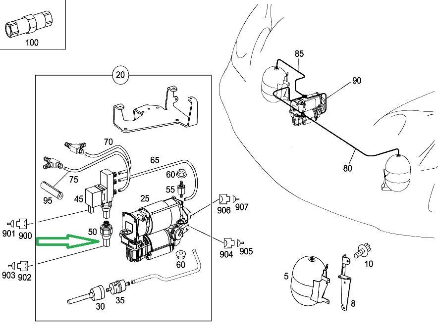 Mercedes C300 2010 Wiring Diagram Air Pump : 42 Wiring