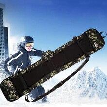 Лыжный камуфляж Пельменный однобортный мешок с изображением снега
