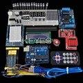 Бесплатная Доставка Funduino UNO R3 + L293D водитель мотора + беспроводной модуль для arduino Starter Kit
