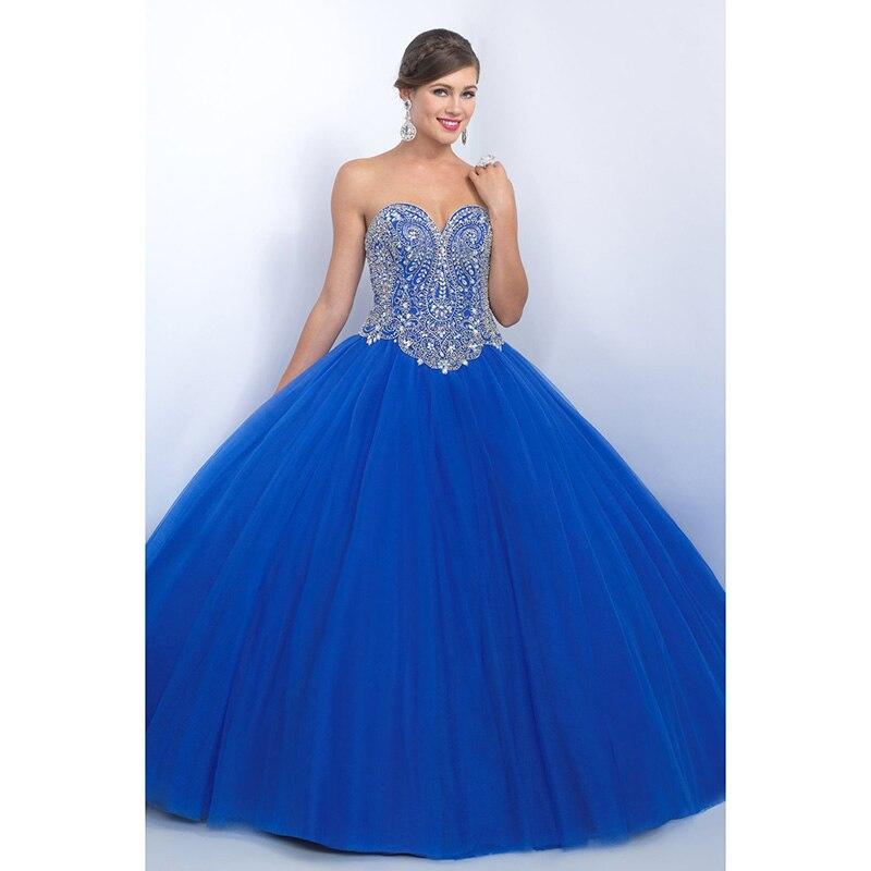 Royal blue quince dresses