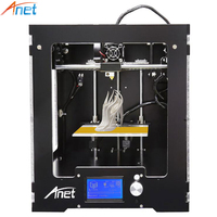Anet A3 3D Printer Full Aluminum Plastic Frame Assembled LCD Display 8GB TF Card Off Line