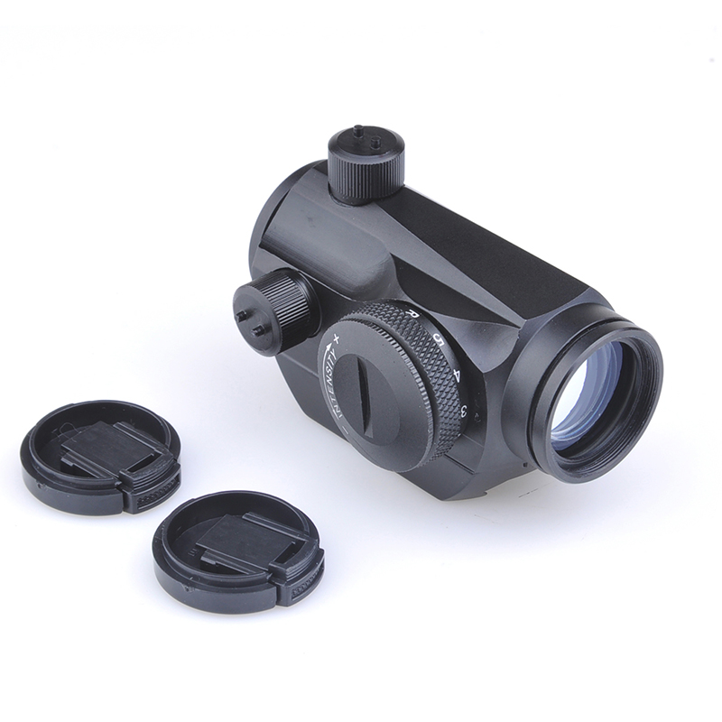 SEIGNEER T1 Red/Green Dot Sight W/Weaver Mount With Adjustable Rheostat For Brightness Control With All 20mm Accessory Rails