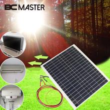 BCMaster Polycrystalline flexible 1W 2V Solar Battery Charging Board Portable Outdoor Travelling Solar Panel DIY Solar Cell Gift