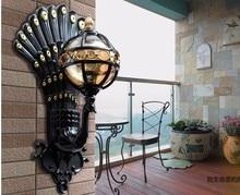 European outdoor lights rain wall outdoor garden lights outdoor waterproof wall lights balcony lights free