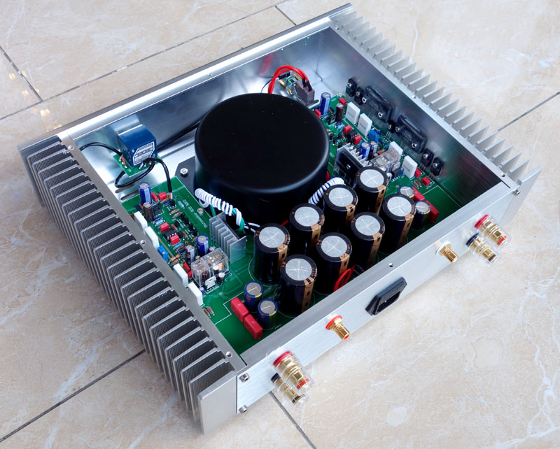 2017 Breeze Audio Reference to the sound of Berlin 933 power amplifier circuit amplifier perfect classic