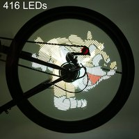 FT 801 Pro DIY Bicycle Cycling 416 LEDs Waterproof Colorful Changing Video Pictures Bike Wheel Spoke