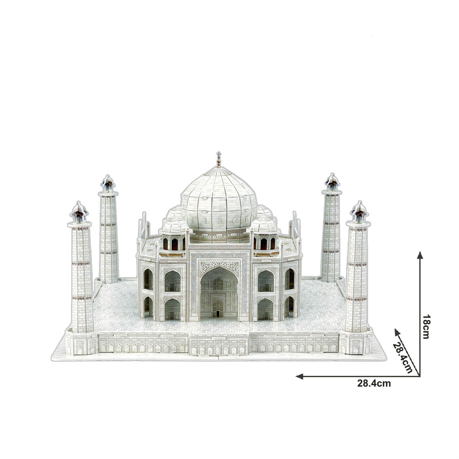 Special authentic cubicfun mini 3D puzzle paper model  India Taj Mahal Kits For Toys Gifts mini architecture series 4 cubicfun 3d educational puzzle paper