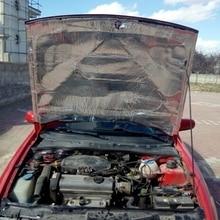 100×140 см капот автомобиля двигатели для брандмауэр тепла коврики Deadener звукоизоляции мертвящей материал интерьер звук теплоизоляция хлопо…