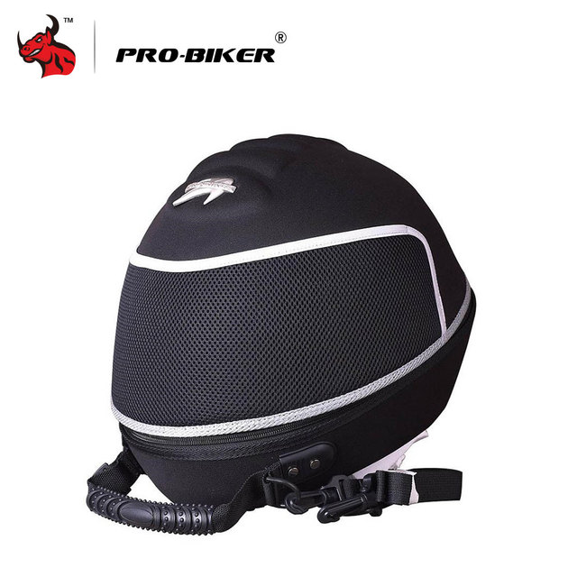 PRO-BIKER Motorcycle Bag Moto Helmet Bag  Motorbike Travel Multifunction Tool Tail Bag Handbag Luggage Carrier Case 4