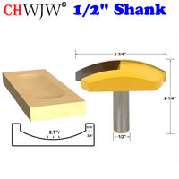 1pc 1 2 Shank Large Bowl Router Bit 2 7 Radius 2 3 4 Wide For