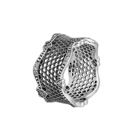 Ring Lace Of Love Silver Rings For Women Men Anel Feminino 100% 925 Jewelry Sterling Silver Anillos Wedding