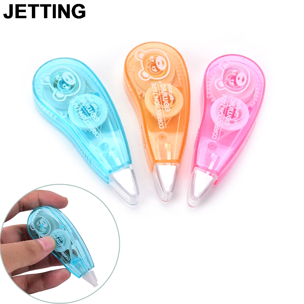 Creative New Office School Stationery Supplies Novelty Shaped Correction Tape Stationery