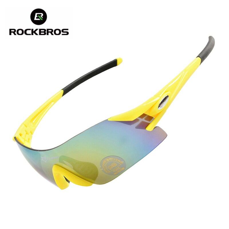 Prix pour Rockbros coloré vélo de lunettes femmes hommes sports de plein air vélo vélo coupe-vent équipement lunettes de soleil lunettes 5 couleurs