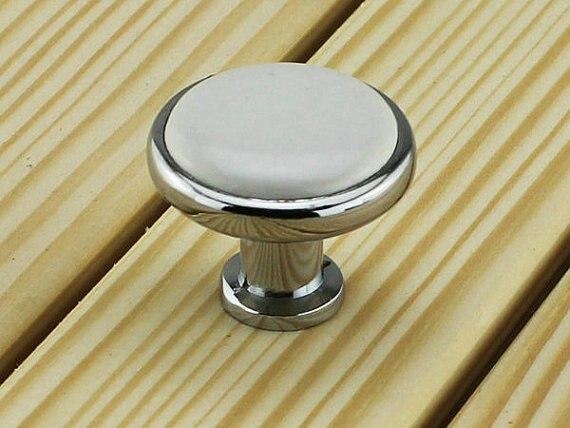 Silver White Dresser Knobs Ceramic Knobs Kitchen Cabinet