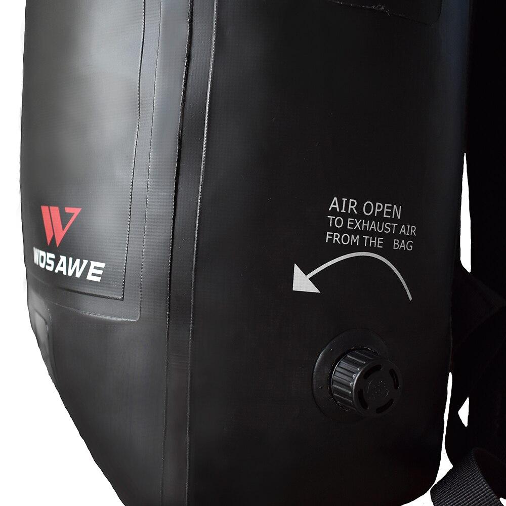 WOSAWE Motorcycles Waterproof Bag PVC 100 Waterproof Motorbike MOTO Bag Racing Backpack Travel Luggage Moto Tank Tail Bag