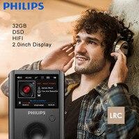 PHILIPS Original 2 0 TFT Screen Full Zinc Alloy Lossless HiFi MP3 Music Player Support 256GB