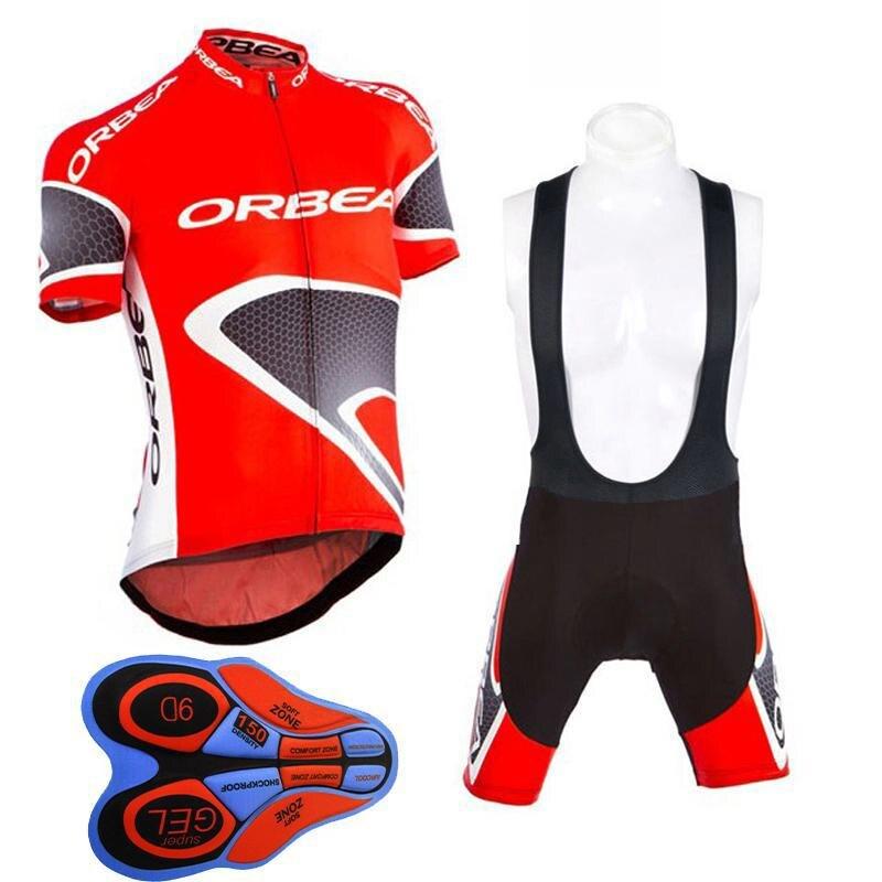 New ORBEA Radfahren jersey 2018 Sommer kurzarm Atmungsaktive fahrradkleidung Pro mtb maillot Ropa Ciclismo 9D gel pad