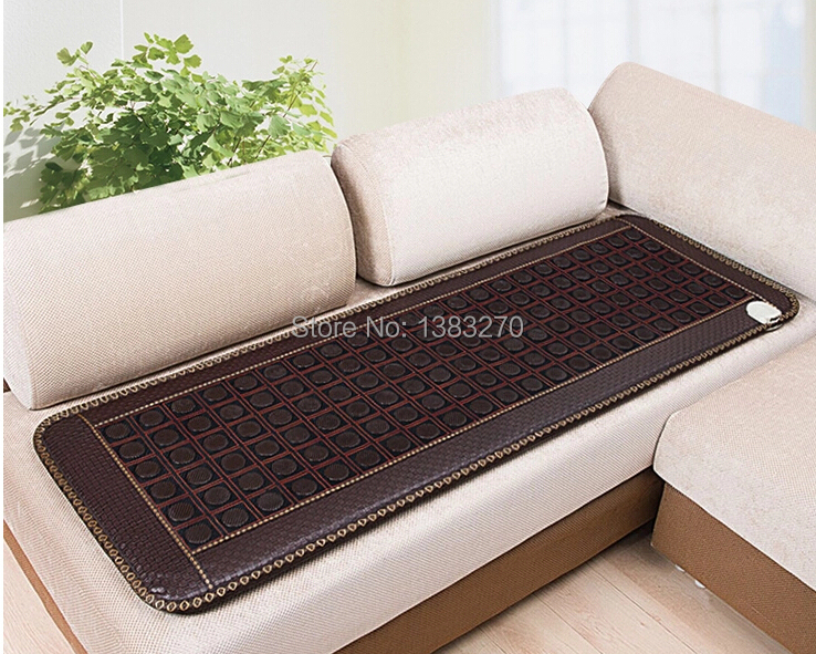 2017 NEW Thermal Massage Cushion Jade Heating sleeping Cushion foldable mattress with free gift eye cover 50*150CM 2017 hot product free eye cover china wholesaler germanium thermal heating jade cushion free shipping 50 150cm