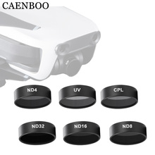 CAENBOO Camera Filtri Per Mavic Aria UV CPL Polarizzati ND 8 16 32 Densità Neutra Set Drone Filtro Per DJI mavic Aria Accessori