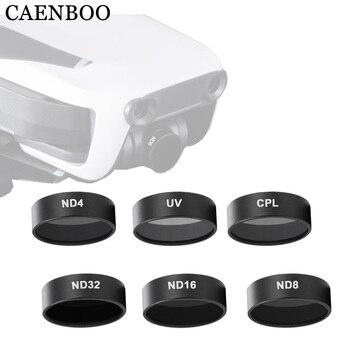 Filtros de cámara CAENBOO Mavic Air UV CPL polarizados ND 8 16 32 filtro de densidad neutra para DJI Mavic accesorios de aire