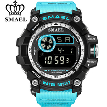 SMAEL Military Digital Watches Men Alarm Waterproof