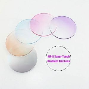 Image 5 - 1.61 Tinted Aspheric Prescription Lens Eye glasses Optical Lenses for Sunglasses Lenses Single Vision Sunwear Lens