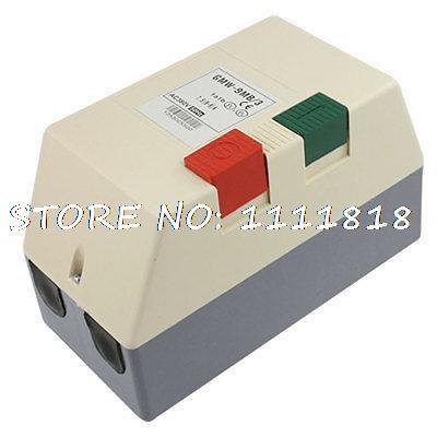 AC 380V 6-9A 4.5HP Three Phase Adjustable Motor Control Magnetic Starter 5kw gasoline generator accessories 6 5kw ec6500 copper rotor three phase motor 380v