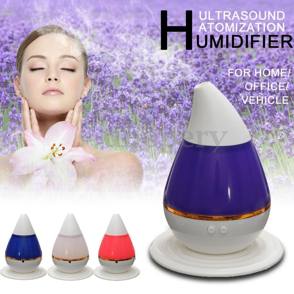 Aroma night lamps - Mini Ultrasonic Aroma Humidifier Diffuser Light Color Changing Usb Home Atomizer Night Light China