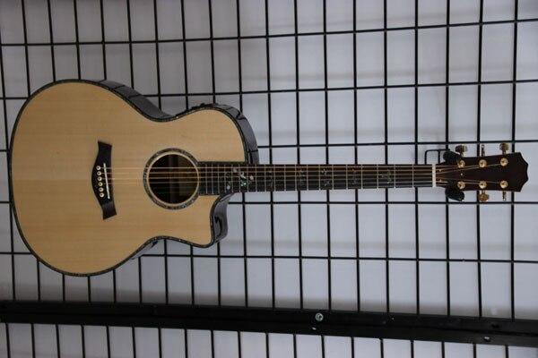 Gratis verzending importeer Tay 9160 akoestische gitaar met fishman101 EQ natuurkleur
