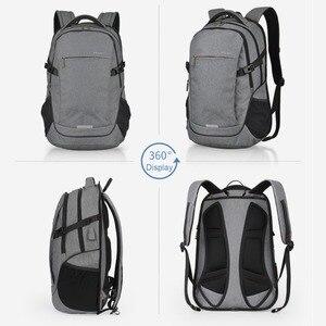 Image 2 - Mixi mochila para laptop, mochila unissex com design de patenteamento, ideal para viagens, escola, à prova d água m5222
