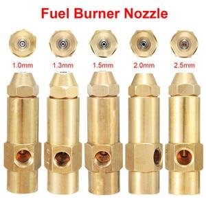 Bocal baseado em álcool do queimador de combustível do óleo waste pesado 1mm 1.3mm 1.5mm 2mm 2.5mm qualidade durável