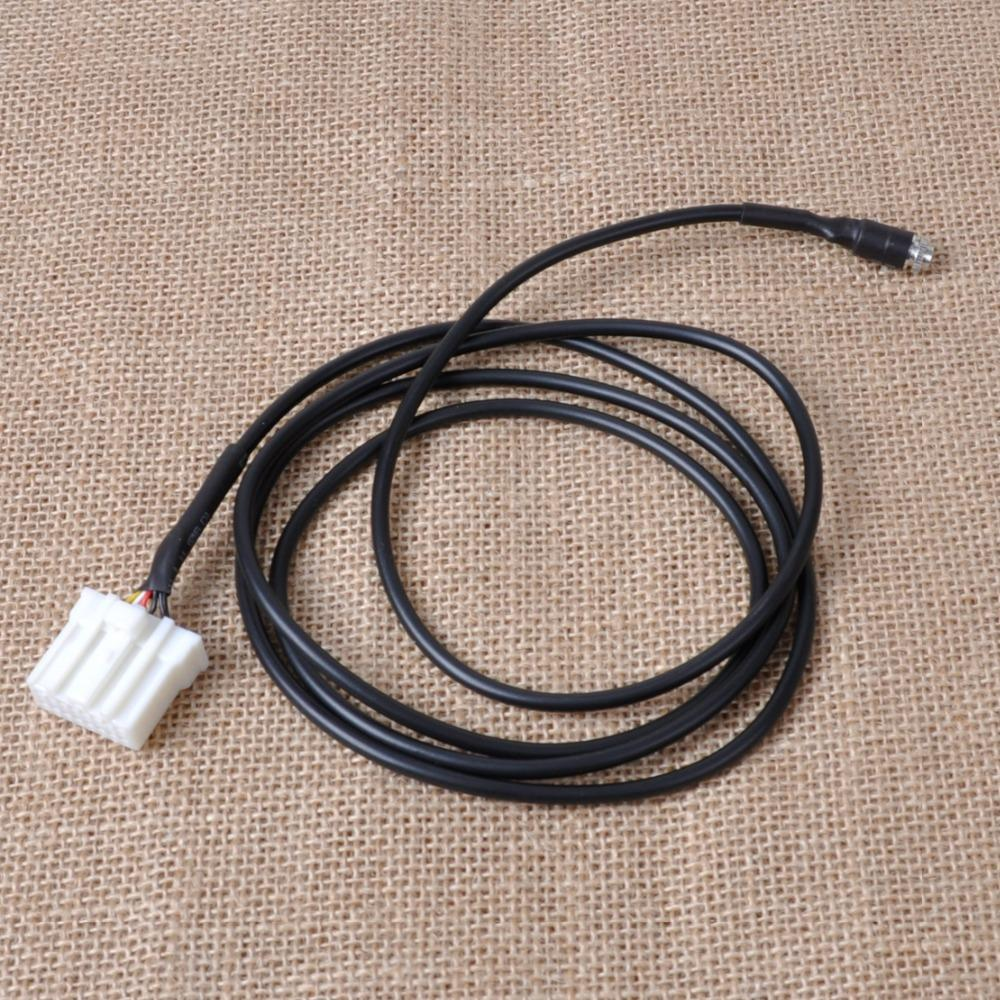 New DIY Car AUX In Input Female Interface Adapter Cable for Mazda 3 6 M3 M6 MX-5 RX8 Besturn B70 2006 2007 2008 2009 2010 2011+