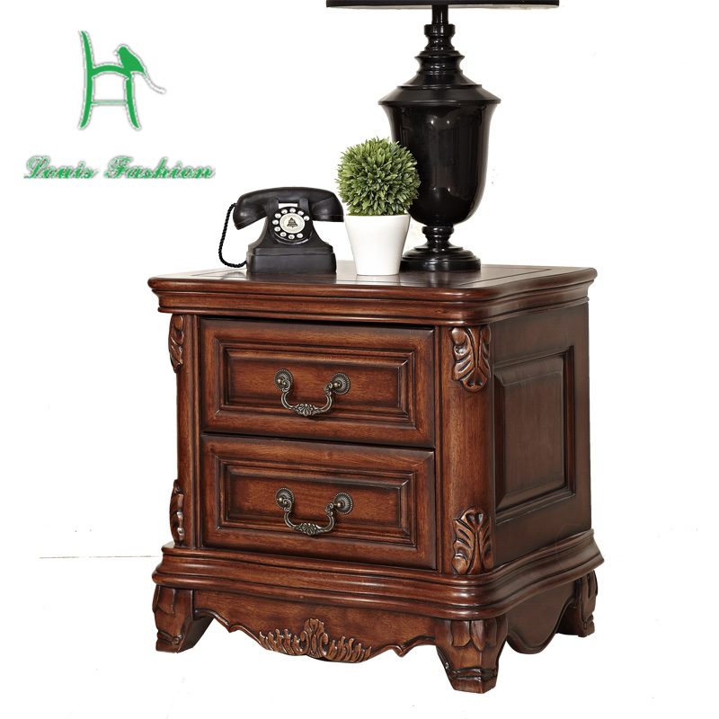 Aliexpress.com : Buy The antique furniture bedside bedside table of  European American country furniture cabinet wood from Reliable bedside  table suppliers ... - Aliexpress.com : Buy The Antique Furniture Bedside Bedside Table