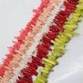 """Mini. orden es $7! 5 ~ 20mm Multicolor Coral Rama Ramita de Plántulas Suelta Granos Freeform 15"""""""