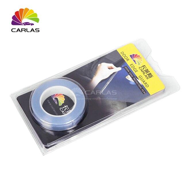 จัดส่งฟรี 1.5 CM x 5 M แรดรถกันชนป้องกันสีฟิล์มไวนิลใสโปร่งใสฟิล์ม