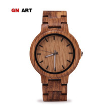 GNART male wooden watches mens famous wooden wrist watch luxury men unique watch brand relogio watch reloj automatico de hombre