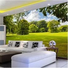 beibehang Custom photo wallpaper Large 3D Simple three-dimensional landscape bedroom painting mural 3d mural wall paper