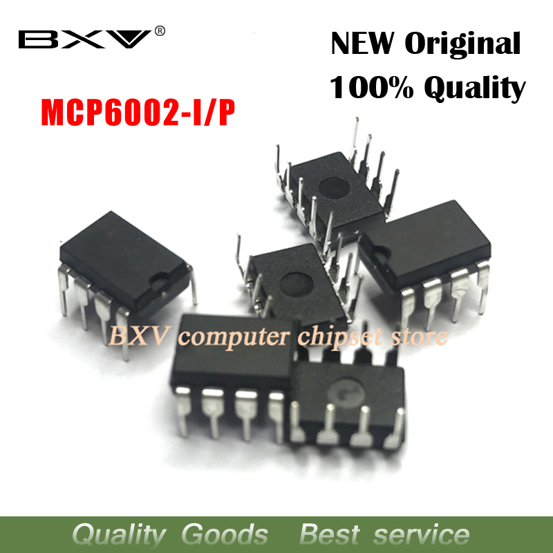 10 pz/lotto MCP6002 MCP6002-I/P DIP8 100% nuovo originale10 pz/lotto MCP6002 MCP6002-I/P DIP8 100% nuovo originale