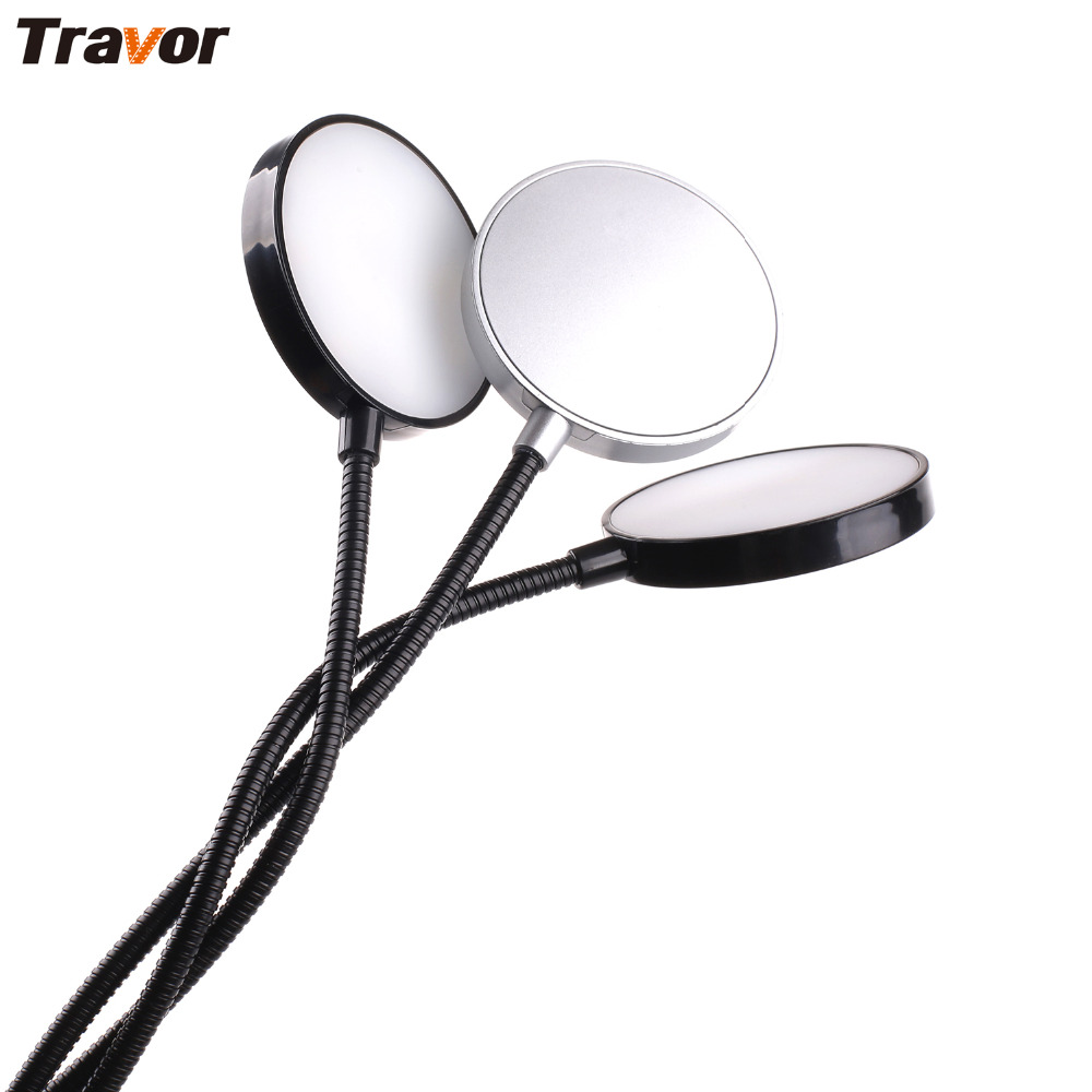 Travor ML-3D Macro LED Ring Flash LED Flexible Macro Flash Metal Tube Hose LCD Display For Canon Nikon Close-up Photography flexible stand for still and macro photography black
