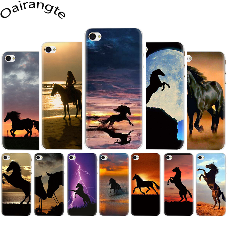 Running horse Hard Phone Cover Case for iphone 5 5s 5c 6 6s Plus 7 8