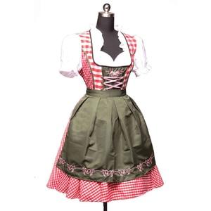 Image 1 - 2 pc/set octoberfest alemão cerveja traje bávaro tradicional austríaco oktoberfest dirndl vestido com avental