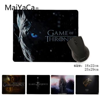 Babaite Simple Design Game of Thrones Gaming Silicone Pad to Mouse Gamer Speed Mice Retail Small Rubber