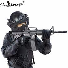 SINAIRSOFT тактический Новый Системный шлем Г4 ABS полный маска с маски для Военно-airsoft Пейнтбол армии быстро шлем
