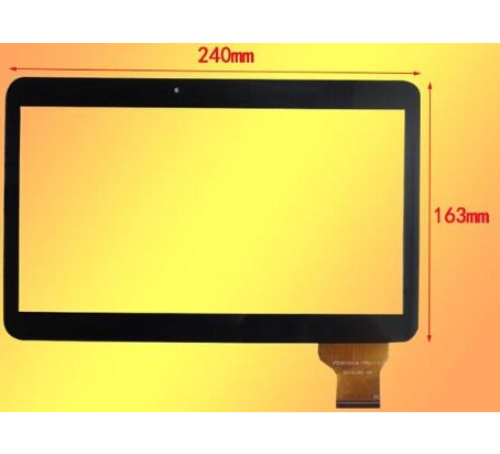 New Touch Screen For 10.1 Digma Plane 1702B 4G PS1015ML Tablet Touch Panel glass Digitizer Sensor Replacement Free Shipping witblue new touch screen for 9 7 archos 97 carbon tablet touch panel digitizer glass sensor replacement free shipping