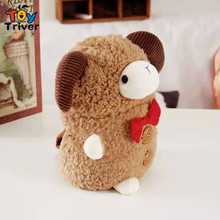 Trievr Toy creative carton sheep blanket portable multiple use carpet plush toy doll office nap kids birthday gift free shipping